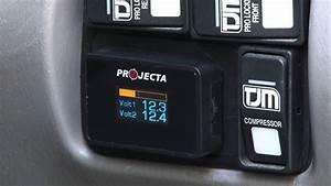 Projecta Dual Battery Volt Meter