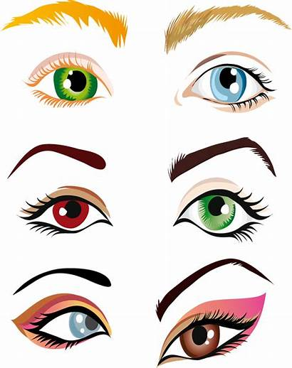 Eyes Vector Eye Commercial Beauty Illustration Drawing
