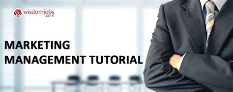 Marketing Tutorial by Learn Marketing Management Tutorial For Beginners Learn