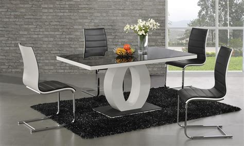 modern black bedroom set dt 839 dining table fortune furniture