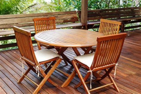 stain teak furniture hunker