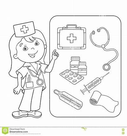 Coloring Aid Worksheet Kit Worksheets Medical Medicine
