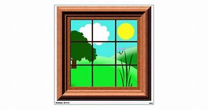 Window Cartoon Decal Colorful Zazzle