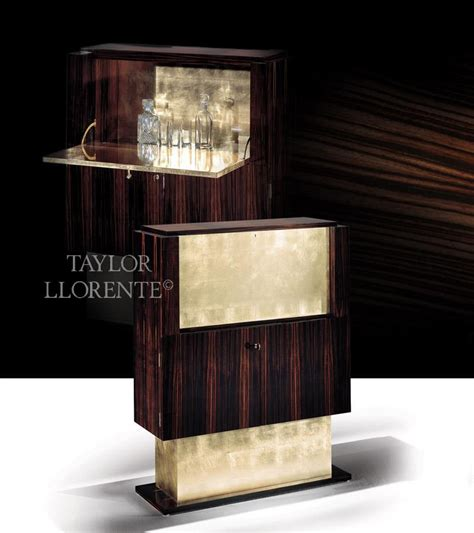 Cocktail Bar Furniture by Chic Stylised Deco Cocktail Cabinets Llorente