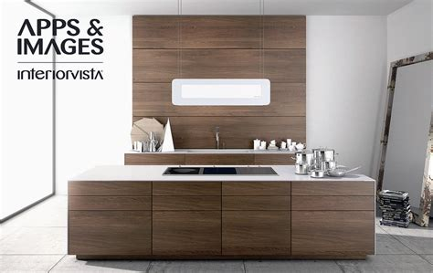cuisines morel modern walnut kitchen cabinets design interior design ideas