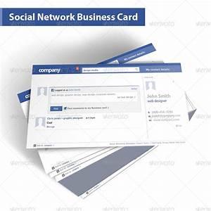 Social network business card by despotdesign graphicriver for Social network business card