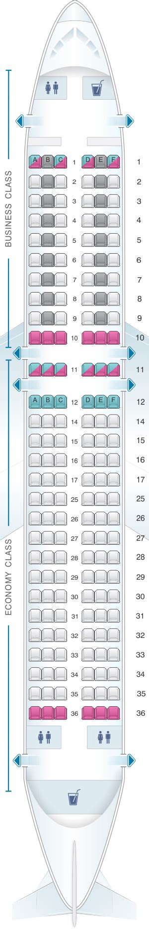 airbus a320 sieges plan de cabine swiss airbus a320 214 seatmaestro fr