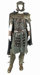 Full Set Of Aged Roman Armour From The Movie  U0026quot Spartacus