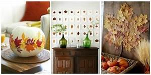 Einfache Herbstdeko Tisch : herbstdeko ideen mehr als 40 einfache beispiele ~ Markanthonyermac.com Haus und Dekorationen