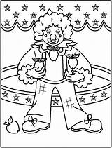 Circus Coloring Pages Printable Colouring Template Ringmaster Getcolorings Getdrawings Animals Coloring2print sketch template