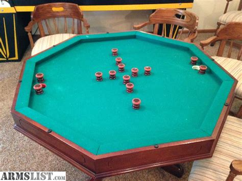 bumper pool table for sale armslist for sale trade bruswick 3 in 1 poker bumper