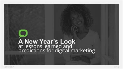 digital marketing lessons a new year s look at lessons and predictions for digital