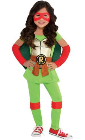 girls raphael costume teenage mutant ninja turtles party city
