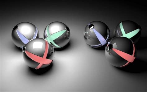 Abstract Balls Picture by Glowing Balls 3d Wallpaper Hd 3d And Abstract Wallpapers