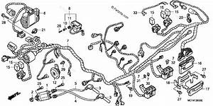 Honda Scooter 2003 Oem Parts Diagram For Wire Harness  Fsc600 U0026 39 02  D U0026 39 03