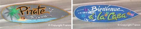 idee deco chambre ado fille déco surf panneau pancarte personnalisée avec prénom pour
