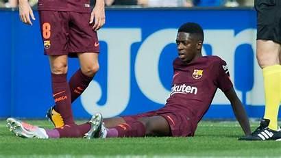 Barcelona Ousmane Dembele Wallpapers Liga Training Steps