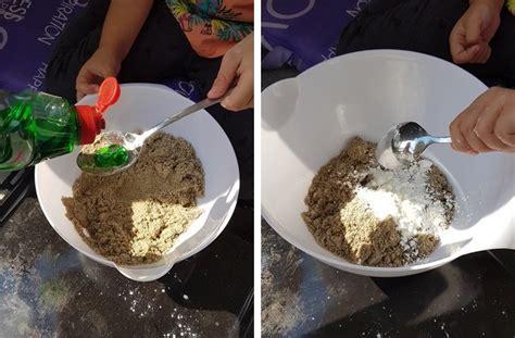 sand selber machen kinetic sand alternative supersand selber machen sandknete