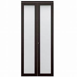 shop reliabilt frosted glass mdf bi fold closet interior With 30 inch frosted glass interior door