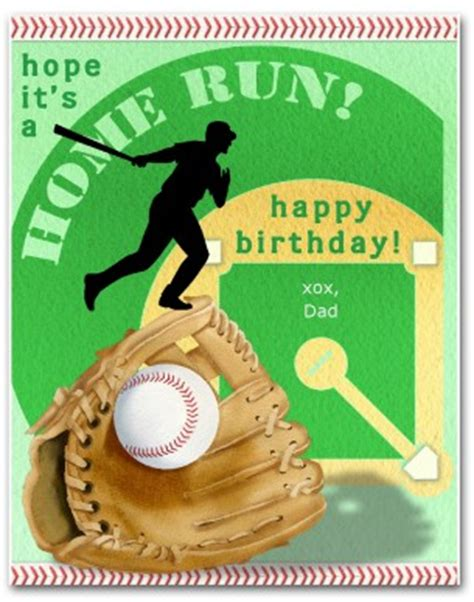 printable home run birthday card template