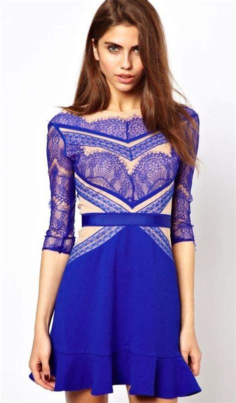gaun pesta exclusive images  pinterest lace