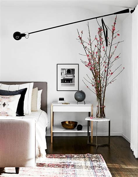 swing arm sconces bedroom swing arm sconce roundup emily henderson