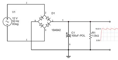 Coming Out Full Wave Rectifier