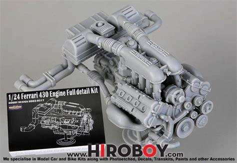 ferrari  engine full detail kit hd