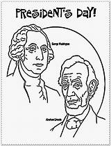 Coloring Presidents Pages President Printable Sheet Abraham Lincoln Kindergarten Clinton Bill Obama Getcoloringpages Skill Raise Holiday Getcolorings sketch template