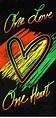 One Love Rasta Beach & Bath Towel #musicquotes #music # ...