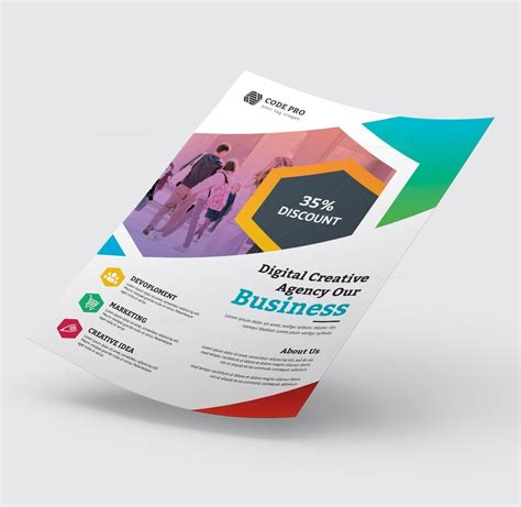 Education Business Flyer Design · Graphic Yard | Graphic ...