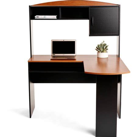 l shaped desk walmart mainstays l shaped desk with hutch finishes