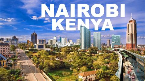 Kenya's Capital Nairobi; Commercial Capital Of East And