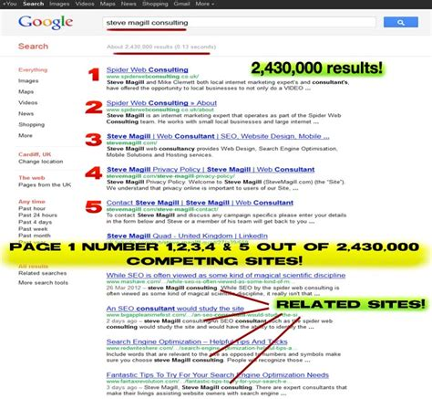 Optimize Search Results - search engine optimization
