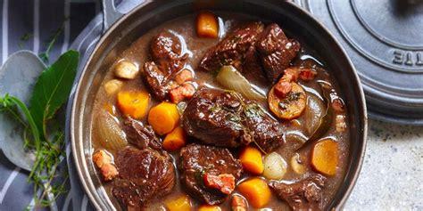 recettes de cuisine corse bœuf bourguignon traditionnel recettes femme actuelle