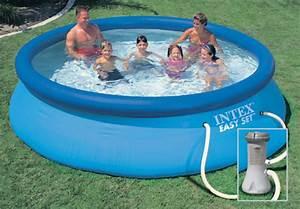 Piscine Tubulaire Oogarden : kit piscine easy set 3 66 m intex p diluve clipsable ~ Premium-room.com Idées de Décoration