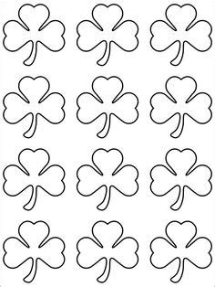 shamrock template images shamrock template st