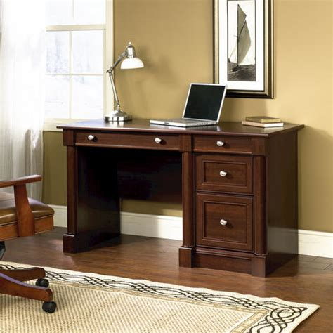 menards sauder computer desk sauder palladia select cherry computer desk at menards 174