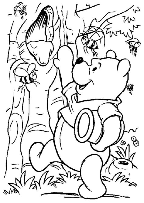 winnie  pooh  friends coloring pages learn  coloring