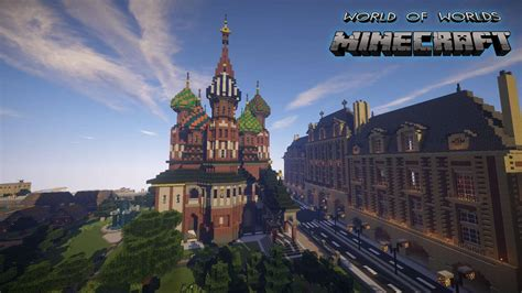 The World world of worlds minecraft building inc