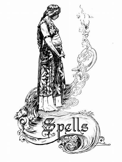 Spells Shadows Pages Witchcraft Magick Bos Wicca