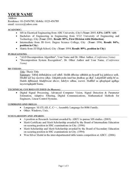 To Do Your Resume by How To Write A Proper Resume Letters Free Sle Letters
