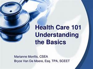 PPT Health Care 101 Understanding The Basics PowerPoint