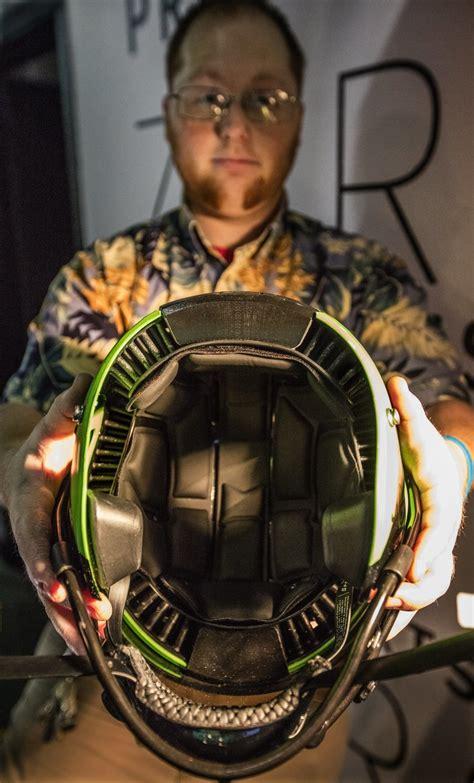 building   football helmet seattle startup aims