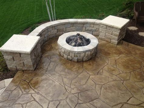 Concrete Design by Backyard Concrete Patio Designs Sted Concrete Patio