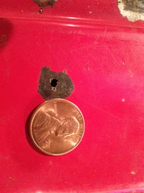 tank gas holes metal filling fuel bondo repairing