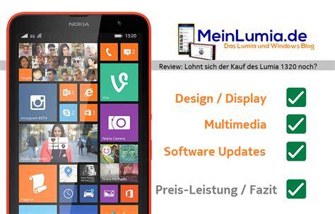 nokia lumia 1320 lohnt sich der kauf des phablets noch
