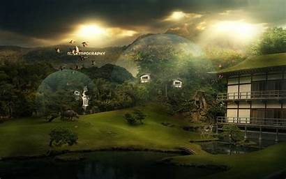 Wallpapers Desktop Fantasy Nice Advertisement Landscape 1920