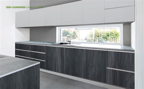 Aluminum Cupboard by Semi Aluminium Cabinet Series For Kitchen Vitally