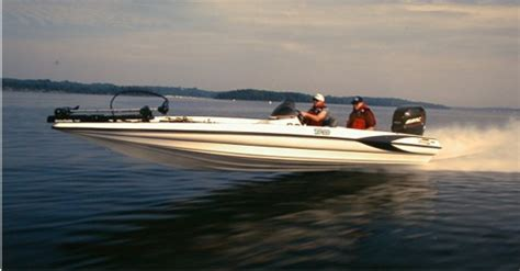 Bass Boat In Rough Water by Triton Boats We Take America Fishing